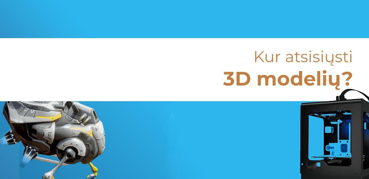 3D modeliai atsisiųsti
